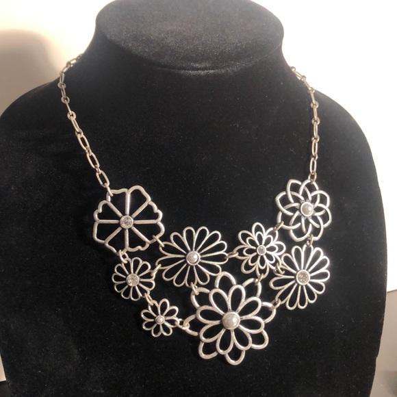 Lia Sophia Jewelry Beautiful Flower Necklace Earrings Poshmark